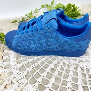 adidas Shoes - Adidas Xeno Superstar Casual Sneakers Blue Sz 11.5